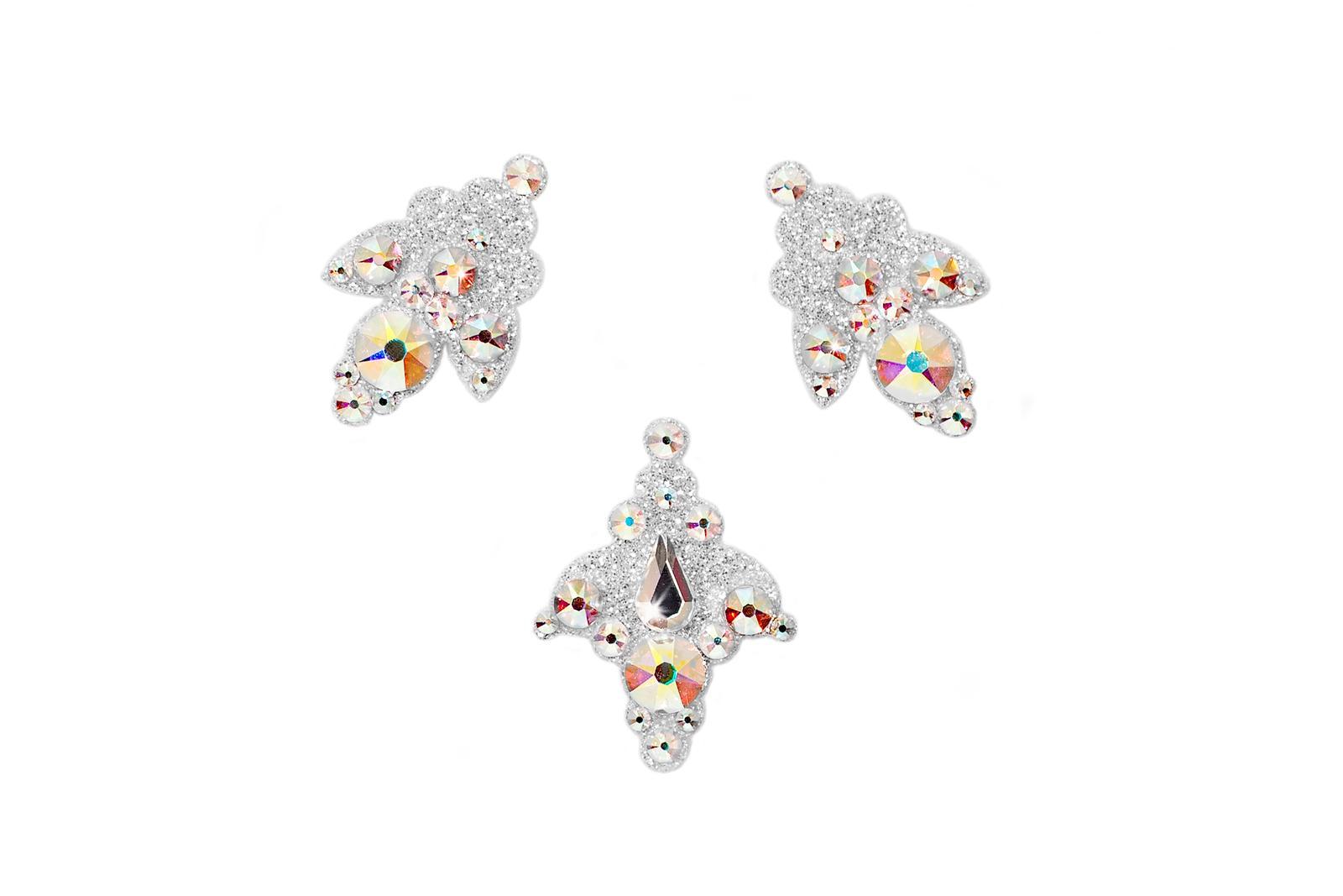SO.nia nalepovací šperk Venice iridiscentní 3 ks - Obrázek č. 1