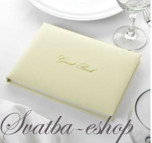 Svatební kniha hostů ivory - Obrázek č. 1