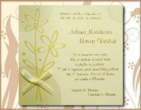 ..svatební oznámení..