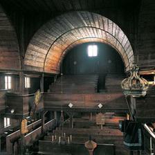 Kostolik zvnutra