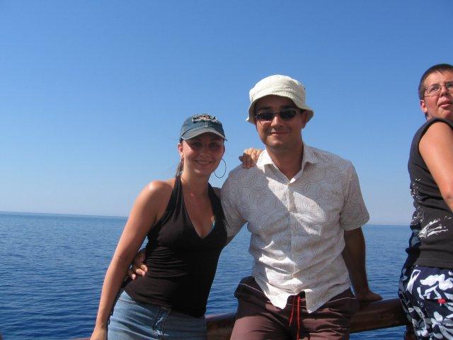 L+M náš veľký deň 15.9.2007 - a tu sme na našej prvej dovolenke v lete