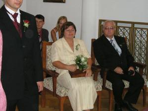 Rodiče ženicha.