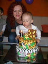 A náše zlatíčko tento tyzden oslavil 2.rocik :-)