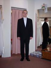 skoromanžel a výběr obleku