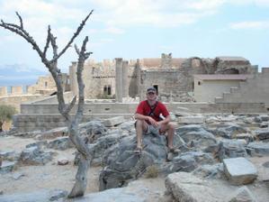 ... na Řeckém ostrově Rhodos
