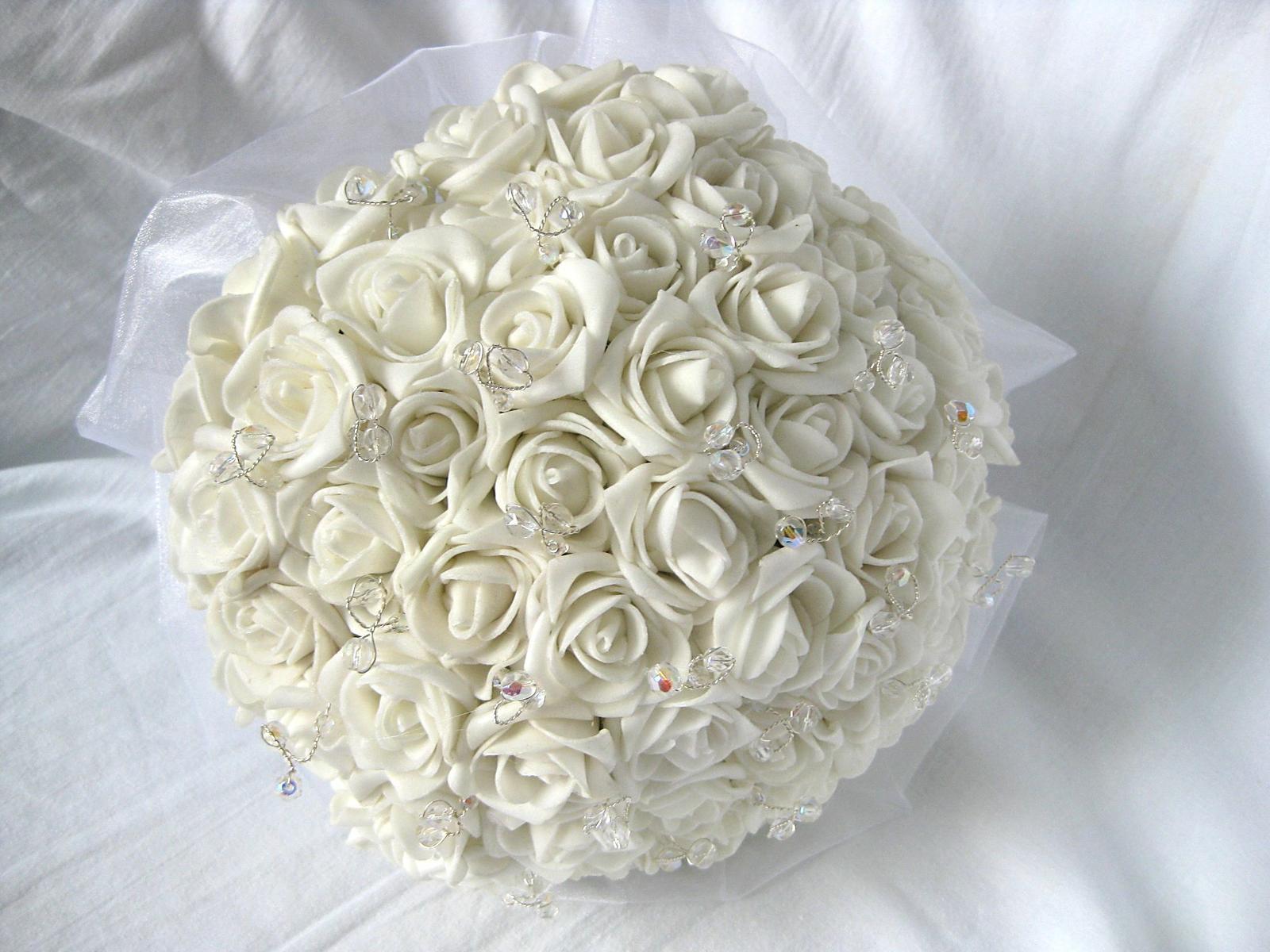 Svatební kytice - jednoduchá - Obrázek č. 1