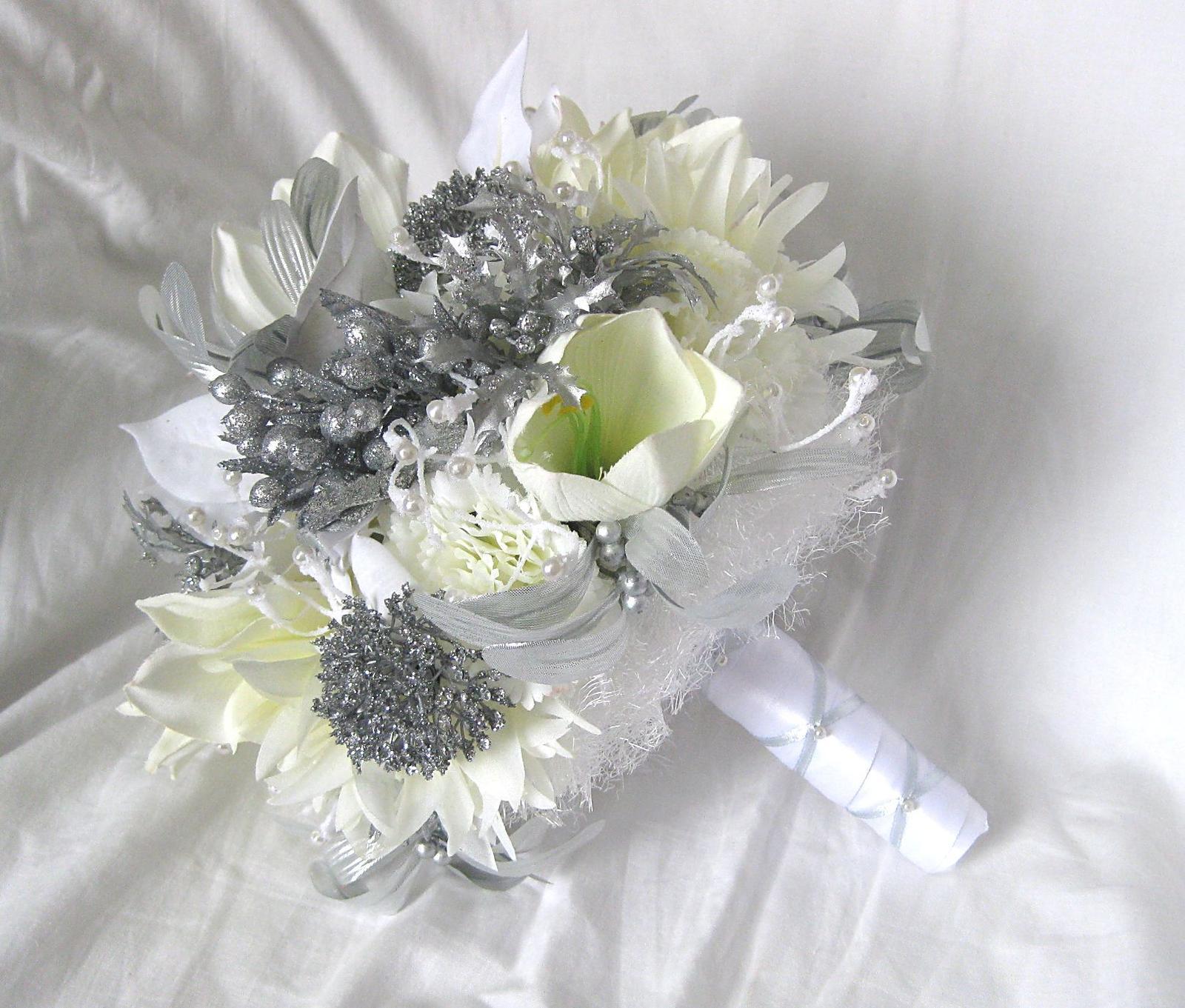 Svatební kytice zimní - Obrázek č. 1
