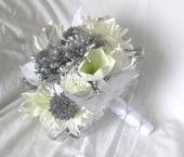 Svatební kytice zimní,