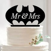 Cake topper Batman,