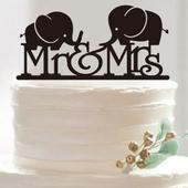 Cake topper Sloni,