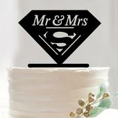 Cake topper Superman,