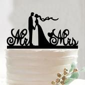 Cake topper Pán a paní spolu,