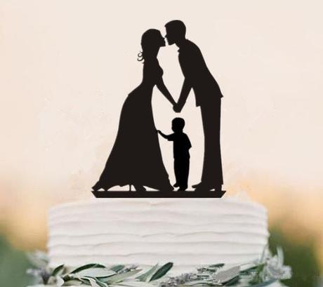Cake topper - Rodina 9 - Obrázek č. 1