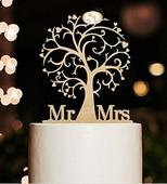 Cake topper - Mr a Mrs strom,