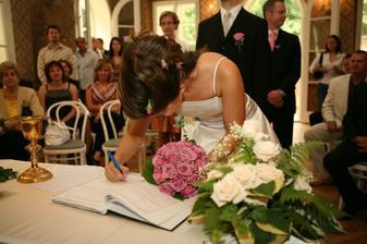 Ten podpis je třeba ještě trénovat :-)