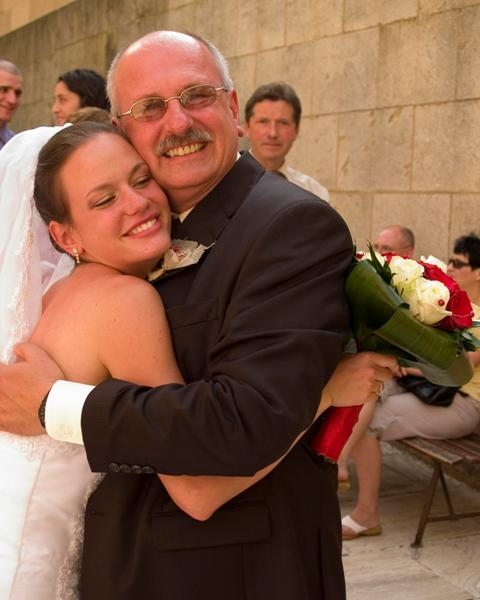 Erika Kadlubekova{{_AND_}}Steven McGowan - Moj ocino bol taky stastny a ja s nim :)