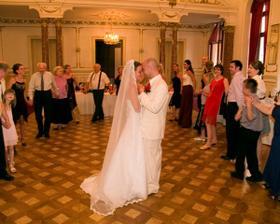 Nas prvy tanec, to bolo nadherne :)