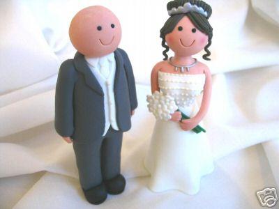 Erika Kadlubekova{{_AND_}}Steven McGowan - Postavicky na torte...no nevyzeraju ako my dvaja hihi :)