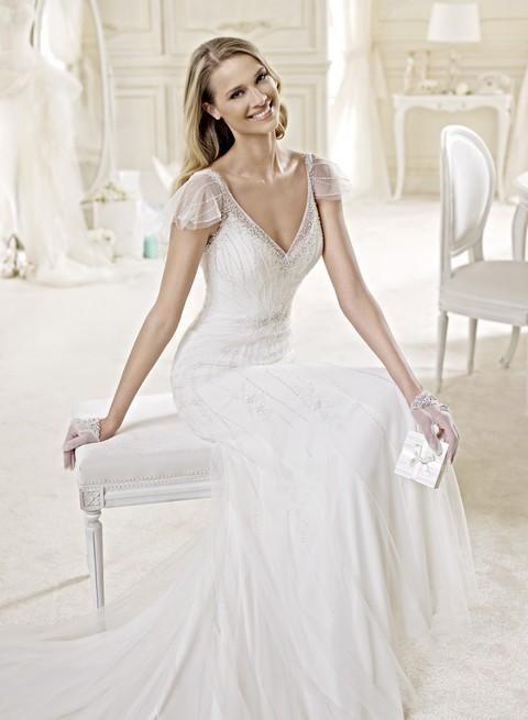 56f93ab14222 Svadobné šaty Kolekcia 2015 -