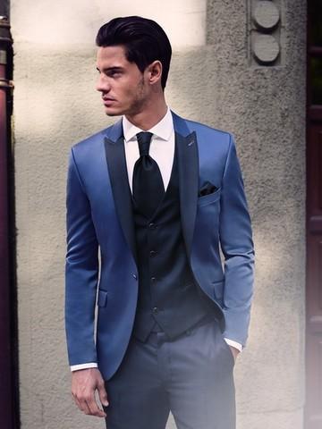 69a20588b391 Svadobné obleky kolekcia 2016 - Pánsky svadobný oblek Svadobný salón Valery  -