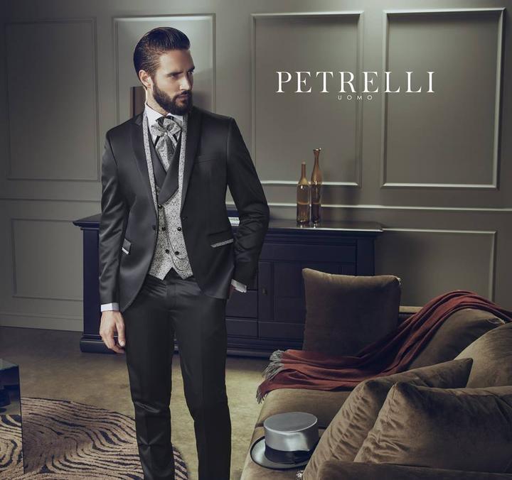 5928d98ab01f Luxusné svadobné obleky Petrelli 2017 - Luxusný svadobný oblek Svadobný  salón Valery -