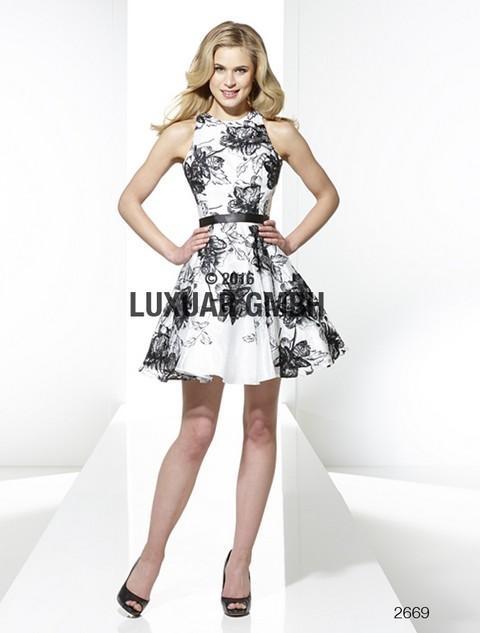 db7dfbab8cdf Nové krátke spoločenské šaty - Krátke luxusné spoločenské šaty Svadobný  salón Valery -