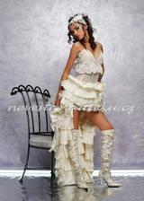 svatební šaty - tak trochu jinak :-D