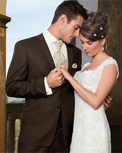 pro milého by se mi líbil hnědý oblek, tenhle je moc hezký :)