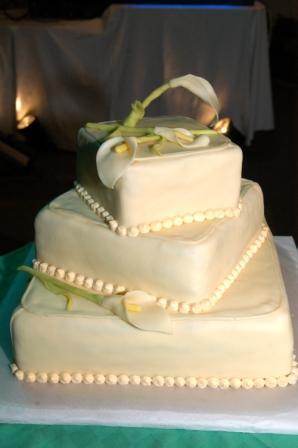 Saška a Radko - 6.9.2008 - ex post - Toto bola inšpirácia na našu hlavnú tortu, len inak ozdobená...
