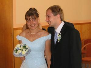 Svatba byla veselá...