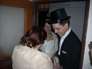 poděkování matce nevěsty
