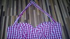 Ružové kockované šatočky - Amisu, L