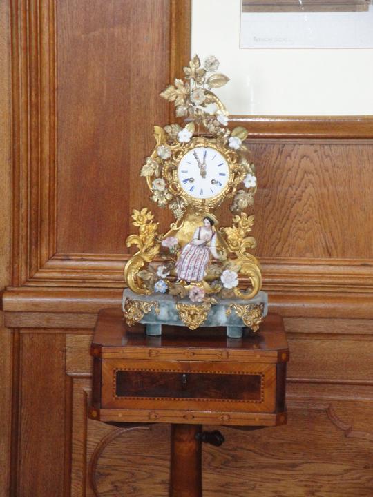 Čo sa mi páči,inšpirácie alebo nápady či postupy - Zamok Lednice,.. Barokove hodinky.