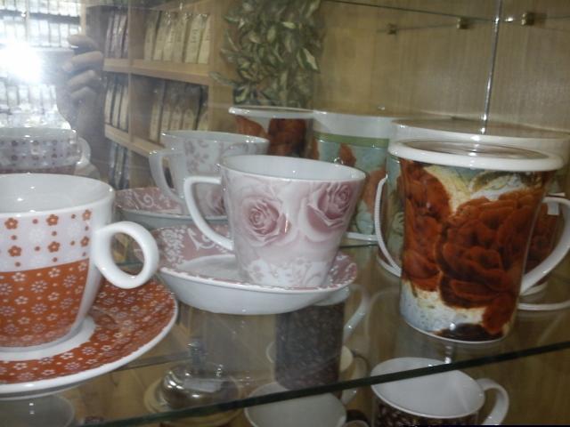 Čo sa mi páči,inšpirácie alebo nápady či postupy - Polus v obchodiku s čajikmi..
