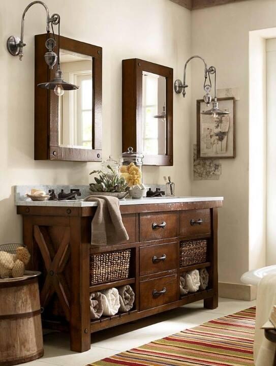 Kúpelne na štýl vidieka - Obrázok č. 33