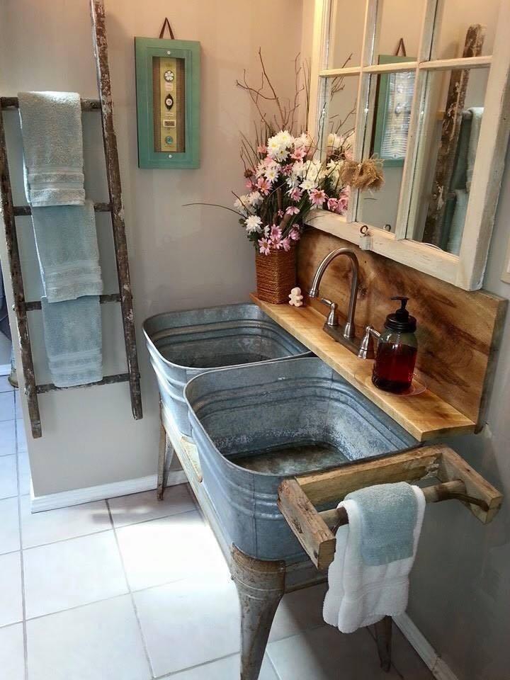 Kúpelne na štýl vidieka - Obrázok č. 105