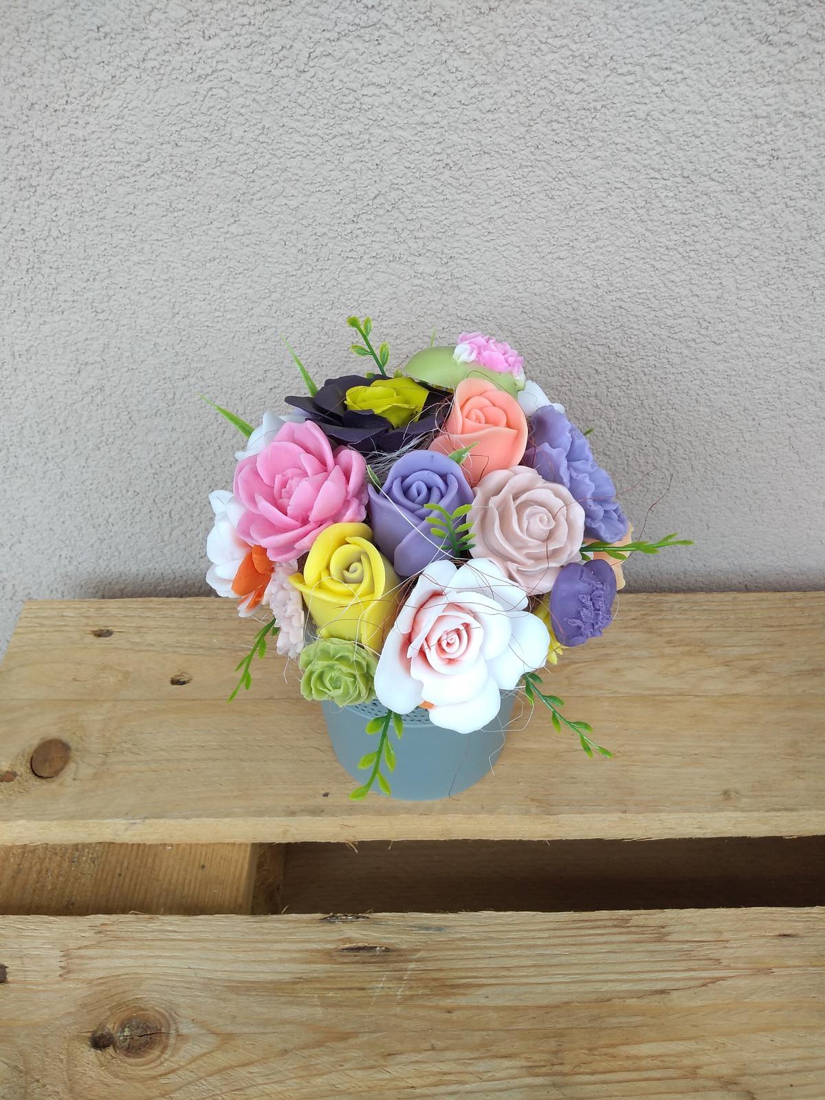 mydlové kytičky - Obrázok č. 2