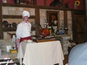 večeře byla přijata s nadšením -nezbyl ani kousíček:-)