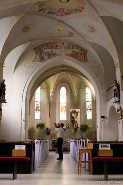 Meliska{{_AND_}}Peťo - kostol z vnútra