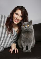 I takúto s jedným mojim macíkom Oliverom :)