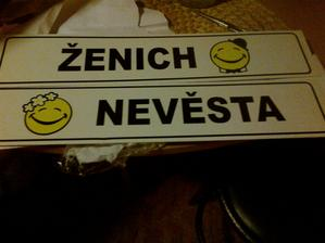 Naše SPZ od paní z beremka :)