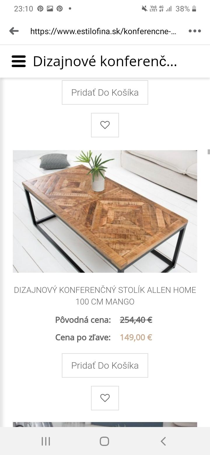 Ma niekto tento konferencny stolik, prosim? - Obrázok č. 2