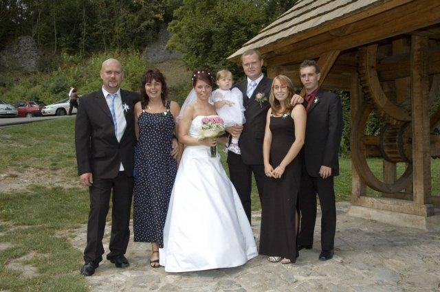 Se švagrem a jeho rodinou
