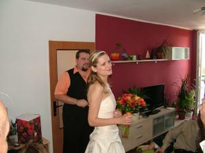 konečně vysvobozená nevěsta