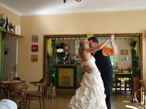 první manželský tanec na píseň ... přece tvoja nebudu