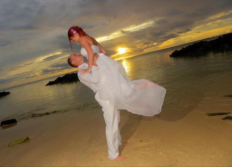 Svadba na Mauríciu - Fotka skupiny
