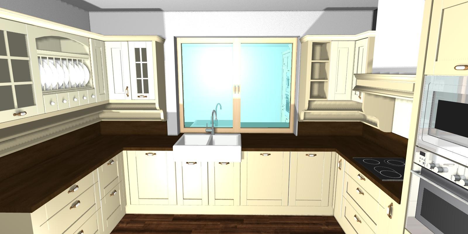 U nás doma  🏠 🌼 🌞👫👭👶 - Vizualizacia našej kuchyne :-)