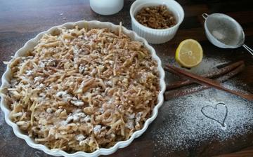jabĺčkovo <3 orieškový <3 koláčik <3