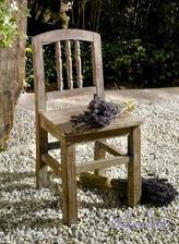 Detská drevená stolička Antik