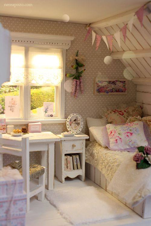 Takéto bývaníčko by som aj brala :-) - Izba number 1 v mojich predstavách pre moju dcérku,kráááásna :-)